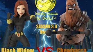 getlinkyoutube.com-Disney Infinity Games - Season 3.0: Black Widow vs. Chewbacca