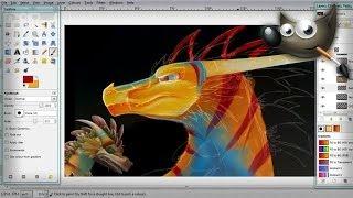 getlinkyoutube.com-Spore Art - Bull Sun Wyvern, Rough Sketch