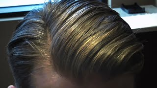 getlinkyoutube.com-Justin Timberlake Slick Side Part Hairstyle | Style Progress Men's Haircut