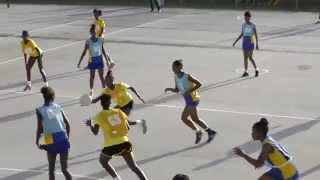 Under-19 Netball Final: Springer Memorial vs Christ Church Foundation - Second Half