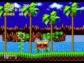 Sonic the Hedgehog Green Hill Zone Act 1 Speed Run