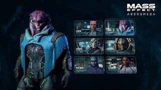 Mass Effect: Andromeda - Gameplay Series #2: Characters