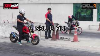 getlinkyoutube.com-KSR & MSX & MONKEY Open TNG Drag Racing 2016 Super Bike 23 กรกฏาคม 2559