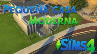 getlinkyoutube.com-Los Sims 4 - Pequeña casa moderna