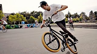 getlinkyoutube.com-100PSI BMX FLATLAND Contest 2016