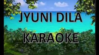 JYUNII Feat  KIM JAH   DILA KARAOKE