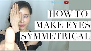 getlinkyoutube.com-How to Make Your Eyes Symmetrical | Use Non-Dominant Eye & Eye Squat (Wink!)
