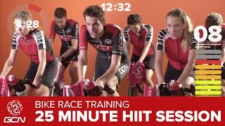 Spinning® Workout – High Intensity Race Day Effort – GCN 25 Minute Spin Session