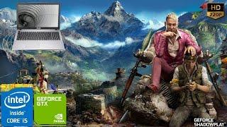 ASUS X550JK - i5 4200H & GTX850M -  Far Cry 4 Performance