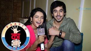getlinkyoutube.com-Jigyasa Singh and Manish Goplani take up the 5 Ka Punch challenge