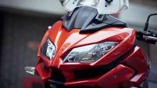 getlinkyoutube.com-2015 Kawasaki Versys 1000 review | Visordown Road Test