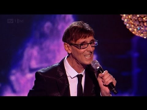Johnny Robinson finally sings a ballad - The X Factor 2011 Live Show 4 - itv.com/xfactor