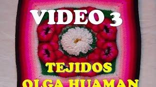 "getlinkyoutube.com-colcha a crochet : video 3, muestra ""pensamiento"""
