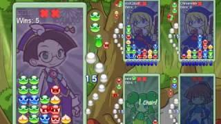 getlinkyoutube.com-Puyo Puyo VS 2 - 4 Player Fever Online