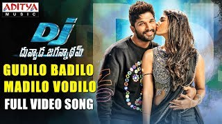 Gudilo Badilo Madilo Vodilo Full Video Song | DJ Video Songs | Allu Arjun | Pooja Hegde | DSP width=
