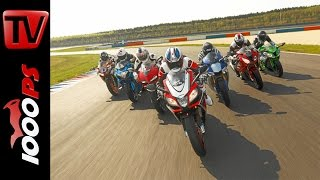 getlinkyoutube.com-2015 Superbike 1000cc Shootout   Testing 7 hottest Supersport Bikes