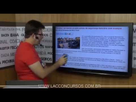 40 super dicas para o concurso do Banco do Brasil 2013 - Prof. Luiz Antonio - parte 01/02