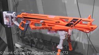 getlinkyoutube.com-Nerf Accustrike Raptorstrike | Toy Fair Demo & Analysis