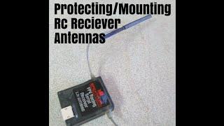 getlinkyoutube.com-Protecting/Mounting Rc Receiver Antennas Spektrum Diversity race receiver (tip) Mini quads, Drones