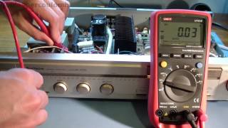 getlinkyoutube.com-Hitachi HA-4700 Amplifier Repair - Part One