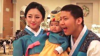 getlinkyoutube.com-[1] BJ 철구 딸 '연지'의 돌잔치 현장 - KoonTV
