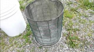 getlinkyoutube.com-Rain Gutter Grow System Container