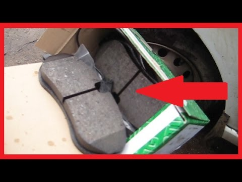 Замена передних тормозных колодок FIAT Scudo