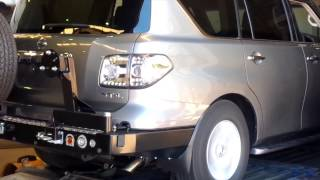 "getlinkyoutube.com-MANTA Performance 3"" Cat Back Exhaust System: Y62 V8 5.6L Nissan Patrol"
