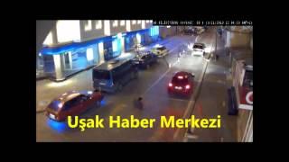 Uşak Mobese (Güvenlik) Kameralarına Yansıyan İlginç Görüntüler 2013