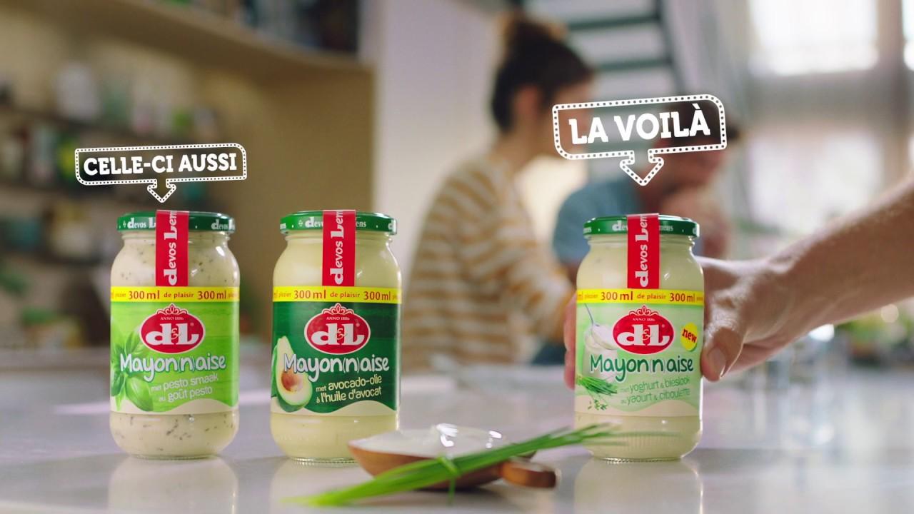 Mayonnaise avec une touche de fraîcheur: La toute nouvelle mayonaise au yaourt et ciboulette!