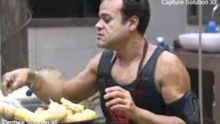 getlinkyoutube.com-bbb 11 Daniel e Diana falam que são os excluidos da casa após provaado lider.avi