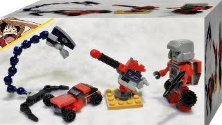 getlinkyoutube.com-크레오 트랜스포머 비스트헌터 피겨 팩 리뷰 Kre-O Transformers Beast Hunters Mech Venom Strike Set a2235