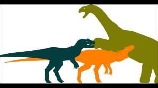 getlinkyoutube.com-Allosaurus vs Camarasaurus