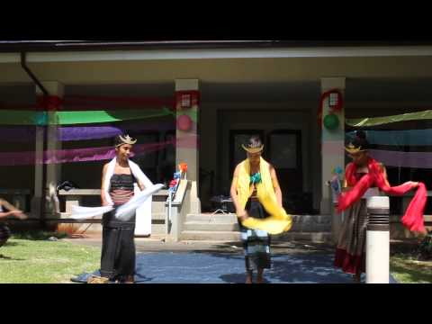 Estudante Timor Leste ~ Hawaii, USA  -- Tebe Tebe East West Festival 2014