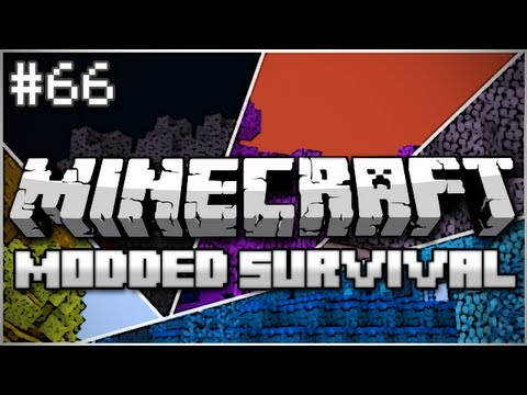 Minecraft: Modded Survival Let's Play Ep. 66 - The Quadrotic Farmula