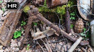 Relic Hunting Eastern Front of WWII Episode 15 HD Раскопки Вторая Мировая Война Металлоискатель