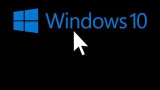 getlinkyoutube.com-Como solucionar la pantalla negra con el cursor tras actualizar a Windows 10.
