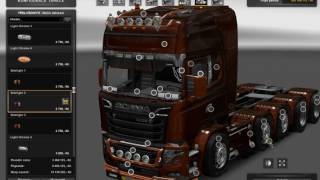 getlinkyoutube.com-[ETS2]Euro Truck Simulator 2 Scania illegal V8 Reworked v 5.0