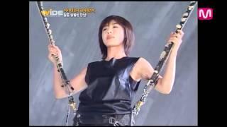 getlinkyoutube.com-Ha Ji Won - Making of KEB CF & interview on Mnet.Wide 11.21.2012
