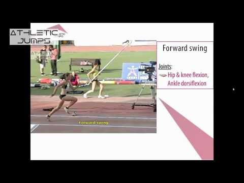 Long jump - Teaching the approach 1/5 (the running technique)