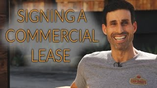 Advice on Signing a Commercial Lease