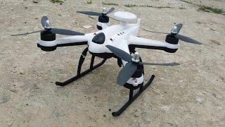 getlinkyoutube.com-Дешевый квадрокоптер с БК моторами и GPS, Flying3d X6