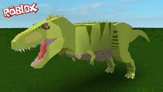 DINOSAURS IN ROBLOX!!!