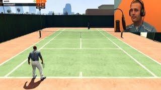 getlinkyoutube.com-Stenjem kao Maria Sharapova!!! GTA V Tennis [Srpski Gameplay] ☆ SerbianGamesBL ☆