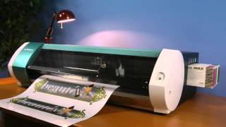 getlinkyoutube.com-Roland VersaStudio BN-20 Desktop Printer/Cutter