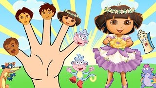 getlinkyoutube.com-Dora the Explorer Finger Family Song - Nursery Rhymes Lyrics