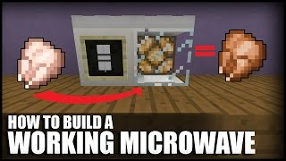 getlinkyoutube.com-How To Make A Working Microwave in Minecraft