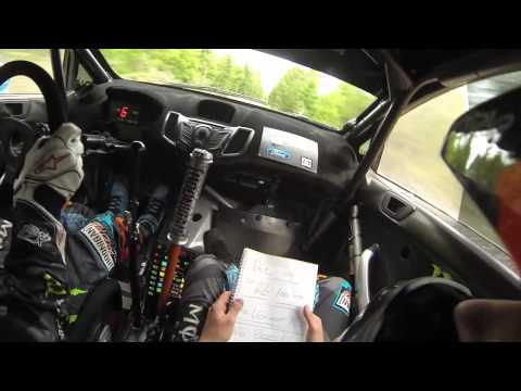 Ken Block and Alex Gelsomino test for the Oregon Trail Rally 2013: All-GoPro edit
