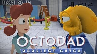 getlinkyoutube.com-We Play: Octodad: Dadliest Catch - Part 2 Groceries and Fishes (PS4 Gameplay)