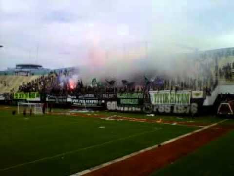 "Brigata Curva Sud ""This is SLEMAN fans"" 1976 - Pyro Show"